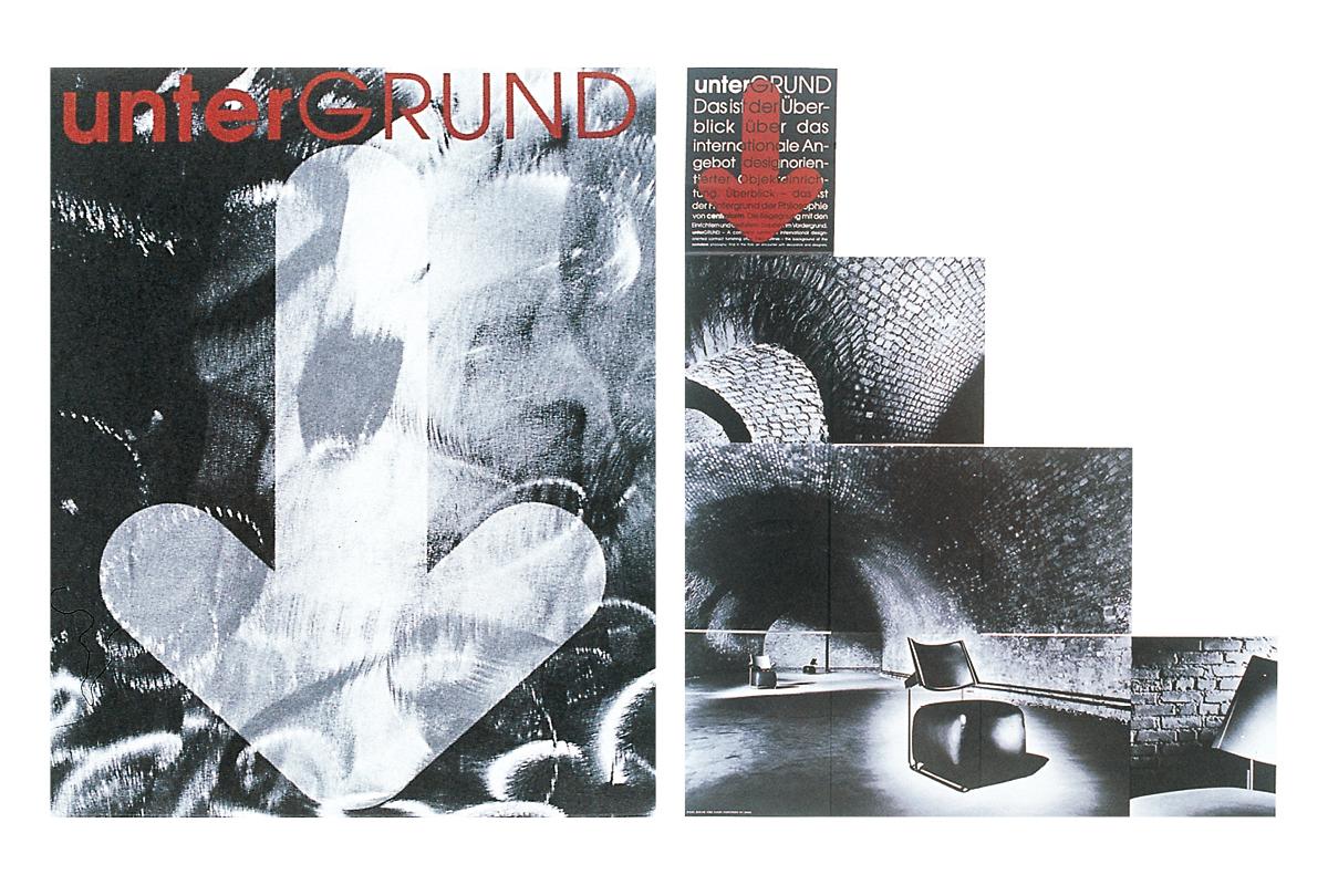1992_CCA-Bronze_Untergrund_TreppenfolderMailing